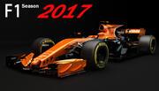 F1 Mclaren MCL32 Honda 2017 3d model