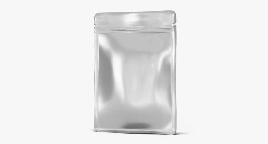 Plastic Sachet v3 royalty-free 3d model - Preview no. 6