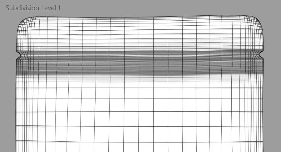Plastic Sachet v3 royalty-free 3d model - Preview no. 12
