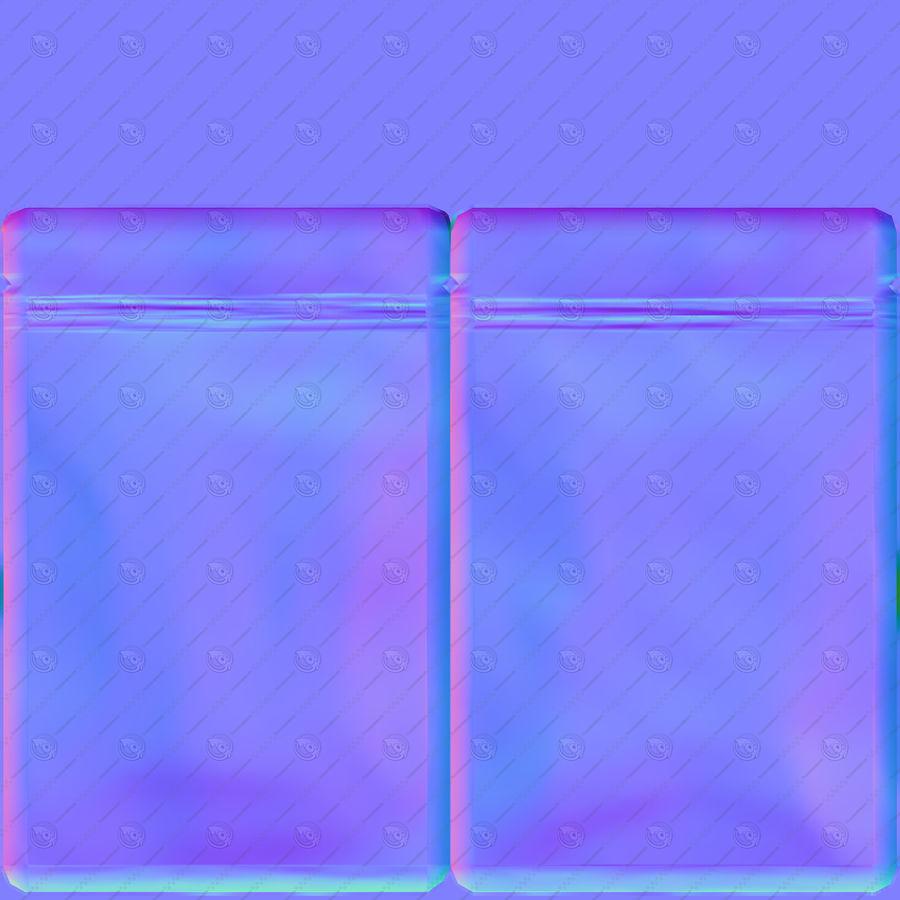Plastic Sachet v3 royalty-free 3d model - Preview no. 14