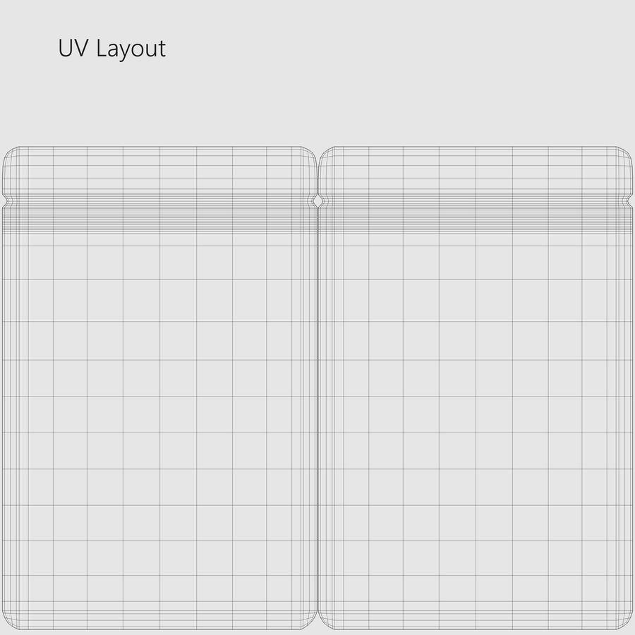 Plastic Sachet v3 royalty-free 3d model - Preview no. 13