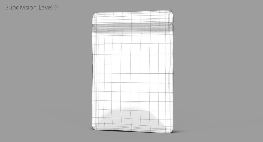 Plastic Sachet v3 royalty-free 3d model - Preview no. 9