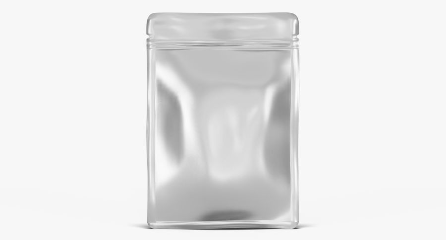 Plastic Sachet v3 royalty-free 3d model - Preview no. 4