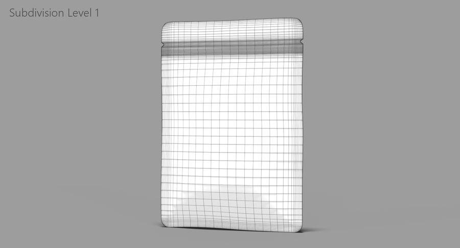 Plastic Sachet v3 royalty-free 3d model - Preview no. 10
