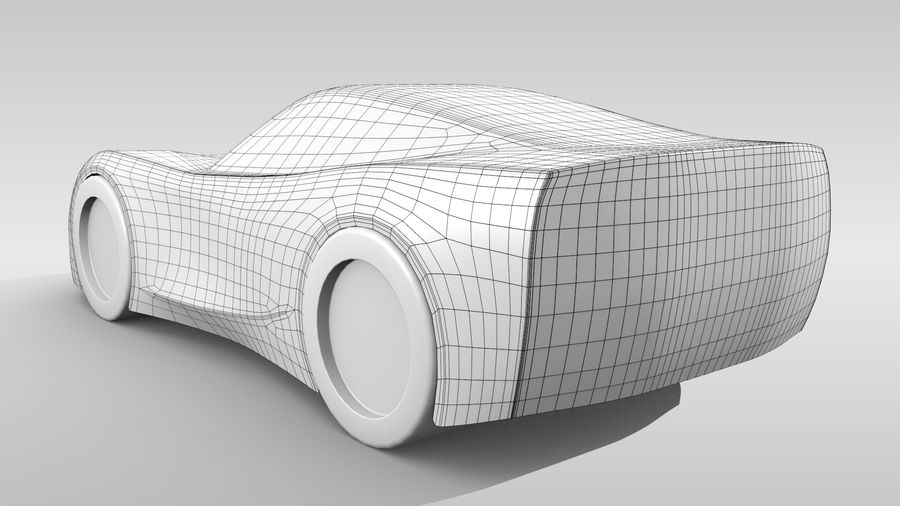 Araba Tabanı FR Düzeni Varyant 2 royalty-free 3d model - Preview no. 6