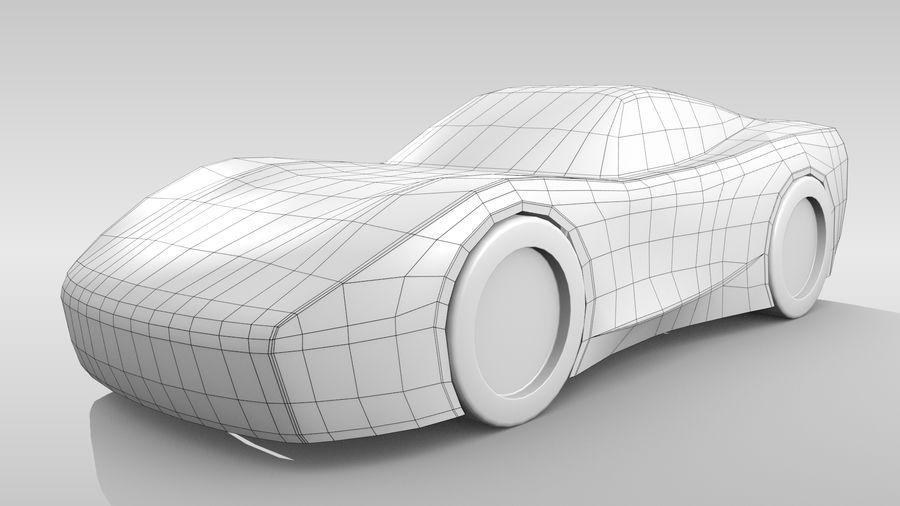 Araba Tabanı FR Düzeni Varyant 2 royalty-free 3d model - Preview no. 3