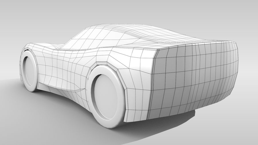 Araba Tabanı FR Düzeni Varyant 2 royalty-free 3d model - Preview no. 7