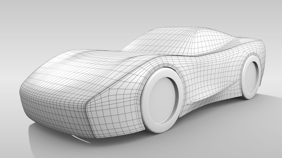 Araba Tabanı FR Düzeni Varyant 2 royalty-free 3d model - Preview no. 2