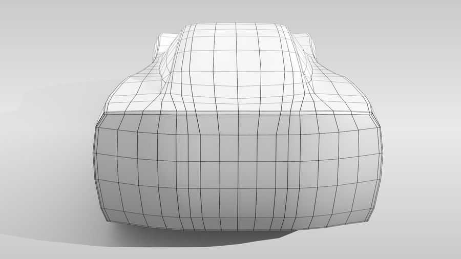 Araba Tabanı FR Düzeni Varyant 2 royalty-free 3d model - Preview no. 18