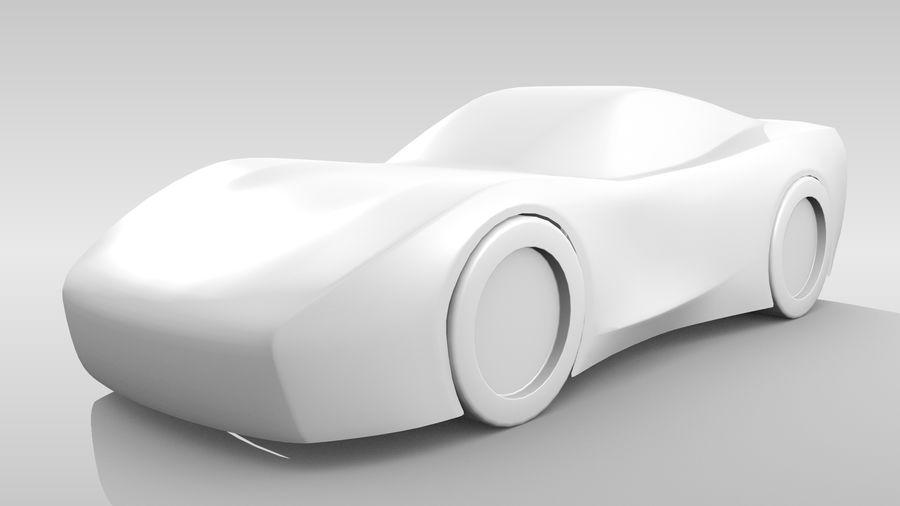 Araba Tabanı FR Düzeni Varyant 2 royalty-free 3d model - Preview no. 4