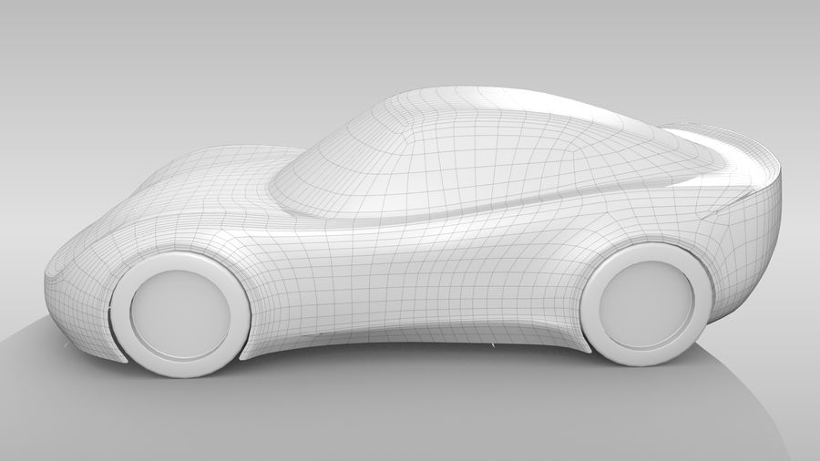 Car Base RR Layout Variant 1 royalty-free 3d model - Preview no. 8