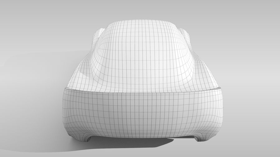 Car Base RR Layout Variant 1 royalty-free 3d model - Preview no. 17