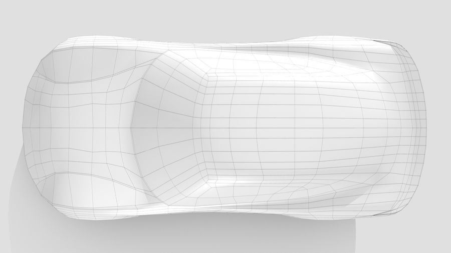 Car Base RR Layout Variant 1 royalty-free 3d model - Preview no. 12