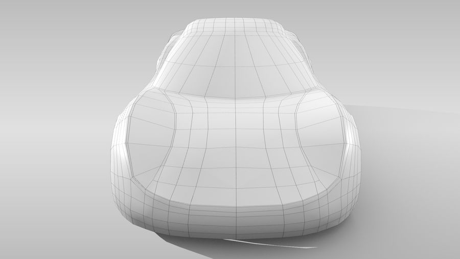Car Base RR Layout Variant 1 royalty-free 3d model - Preview no. 15