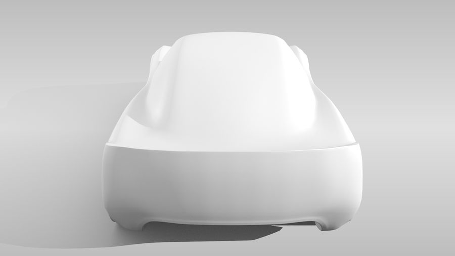 Car Base RR Layout Variant 1 royalty-free 3d model - Preview no. 19