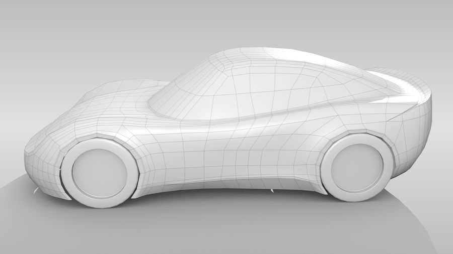 Car Base RR Layout Variant 1 royalty-free 3d model - Preview no. 9
