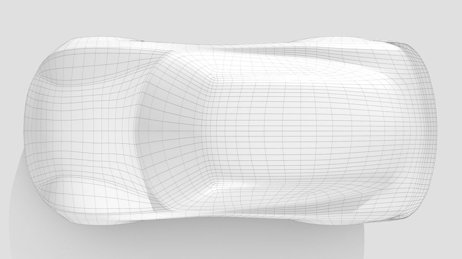 Car Base RR Layout Variant 1 royalty-free 3d model - Preview no. 11
