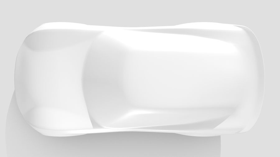 Car Base RR Layout Variant 1 royalty-free 3d model - Preview no. 13