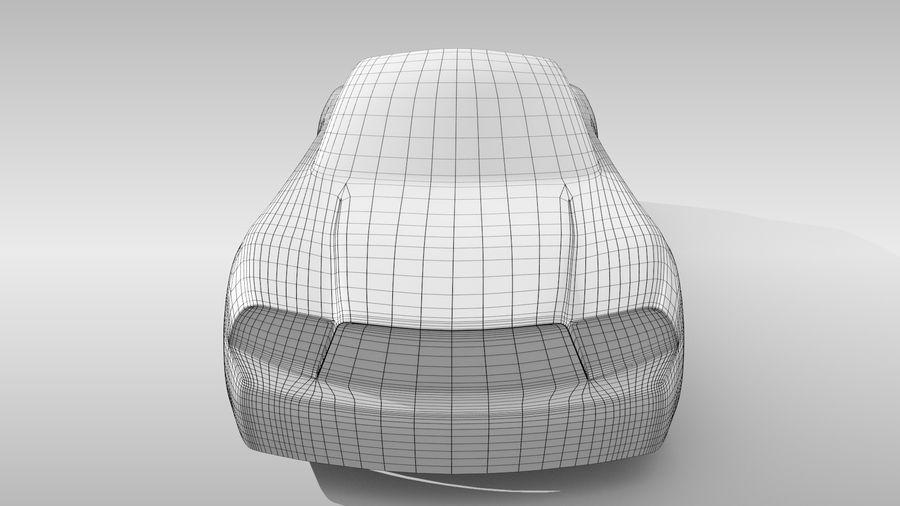 Car Base FR Layout Variant 4 royalty-free 3d model - Preview no. 14