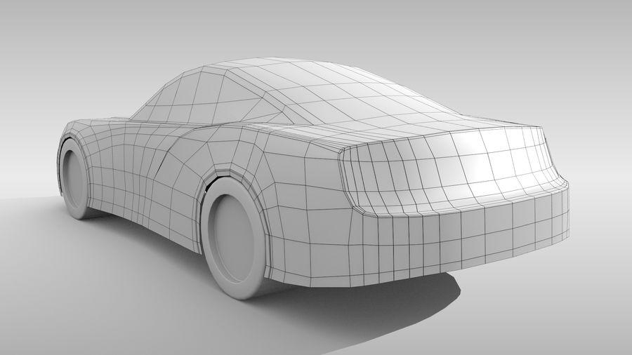 Car Base FR Layout Variant 4 royalty-free 3d model - Preview no. 6