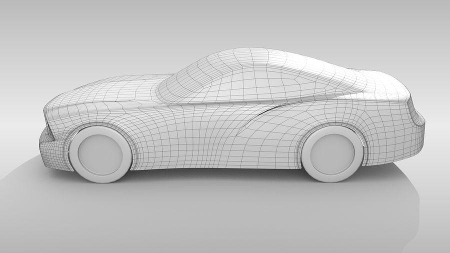 Car Base FR Layout Variant 4 royalty-free 3d model - Preview no. 8
