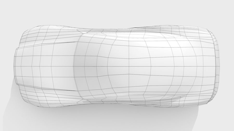 Car Base FR Layout Variant 4 royalty-free 3d model - Preview no. 12