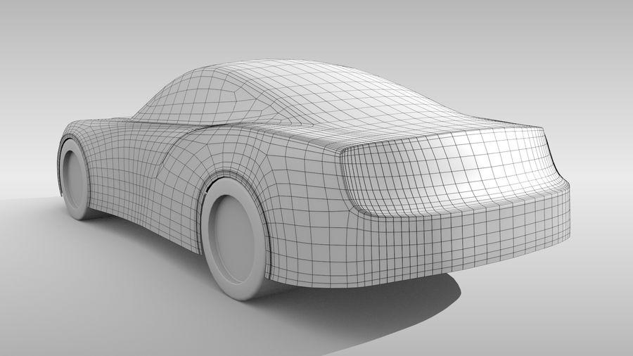 Car Base FR Layout Variant 4 royalty-free 3d model - Preview no. 5