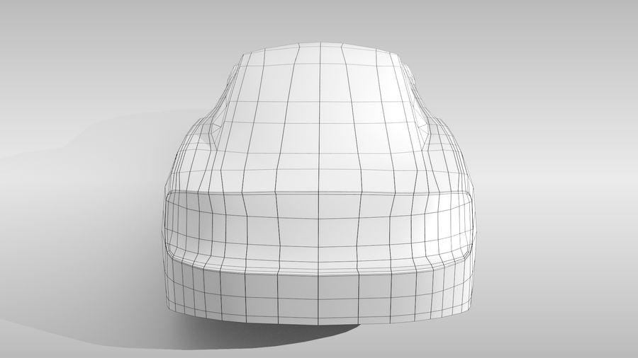 Car Base FR Layout Variant 4 royalty-free 3d model - Preview no. 18