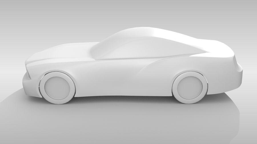 Car Base FR Layout Variant 4 royalty-free 3d model - Preview no. 10