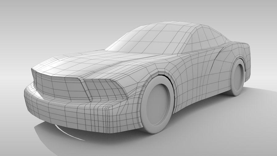 Car Base FR Layout Variant 4 royalty-free 3d model - Preview no. 3