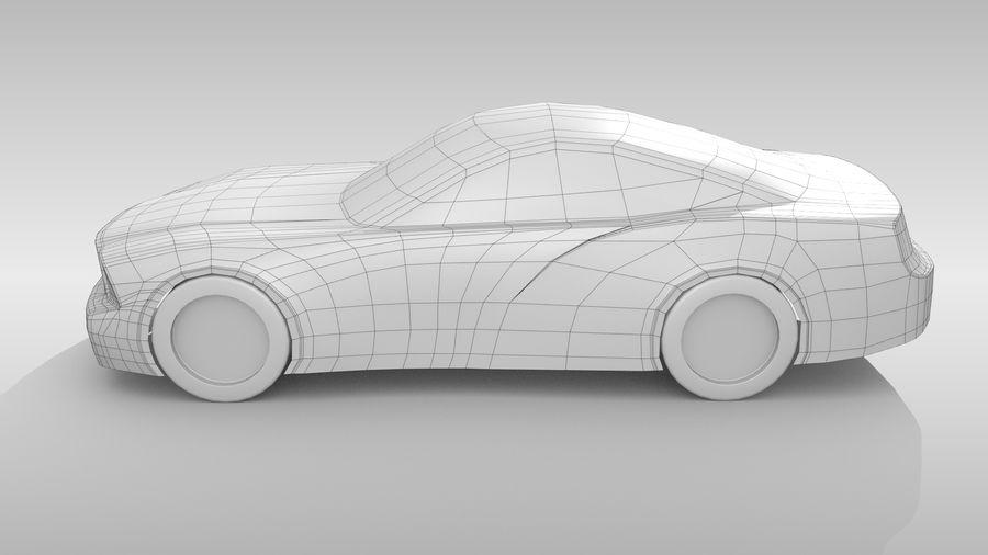 Car Base FR Layout Variant 4 royalty-free 3d model - Preview no. 9