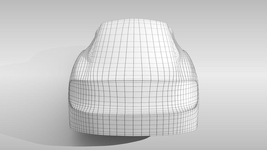 Car Base FR Layout Variant 4 royalty-free 3d model - Preview no. 17