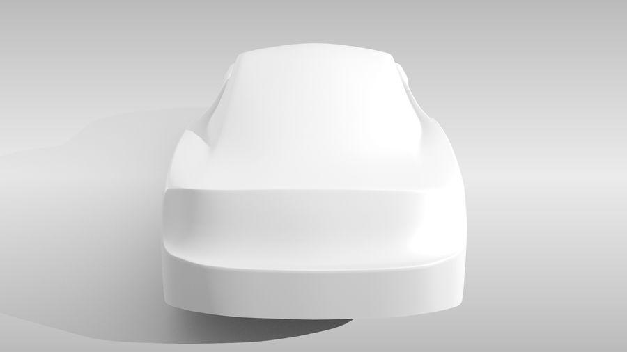 Car Base FR Layout Variant 4 royalty-free 3d model - Preview no. 19