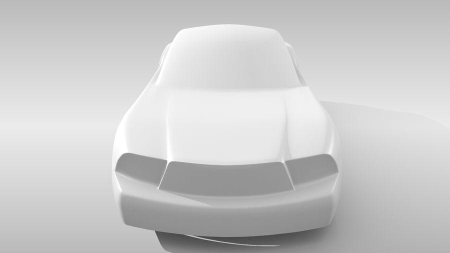 Car Base FR Layout Variant 4 royalty-free 3d model - Preview no. 16