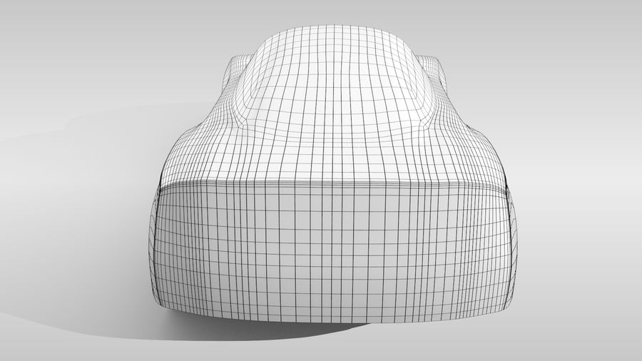 Car Base MR Layout Variant 3 royalty-free 3d model - Preview no. 17