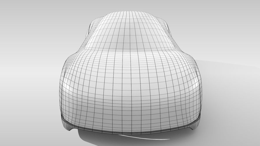 Car Base MR Layout Variant 3 royalty-free 3d model - Preview no. 14