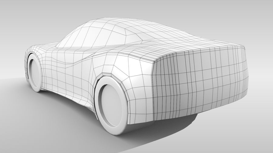Car Base MR Layout Variant 3 royalty-free 3d model - Preview no. 6