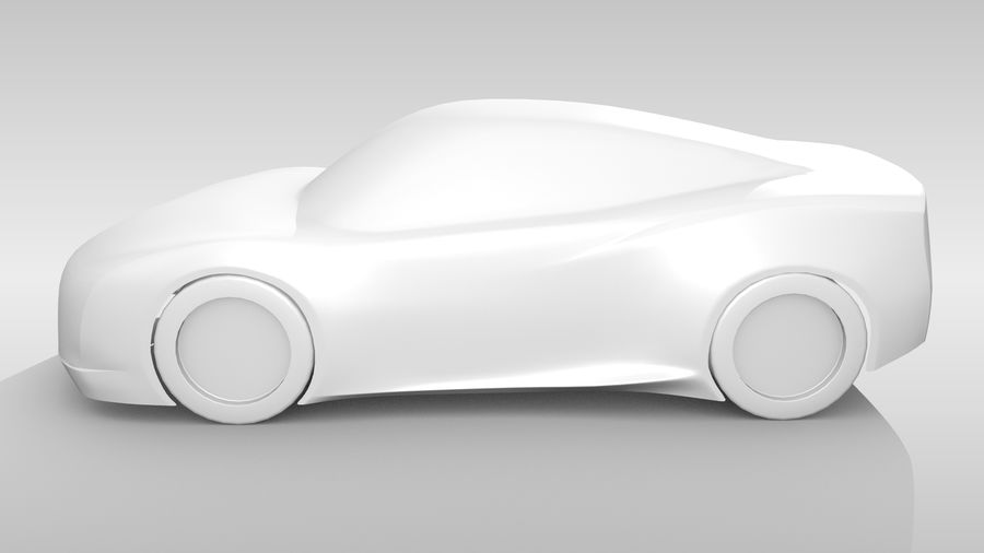 Car Base MR Layout Variant 3 royalty-free 3d model - Preview no. 10