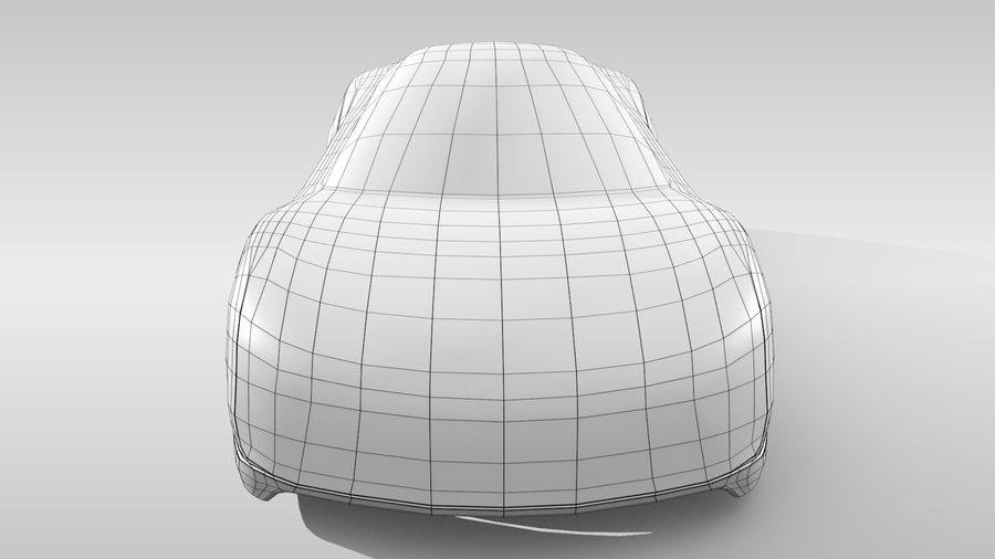 Car Base MR Layout Variant 3 royalty-free 3d model - Preview no. 15