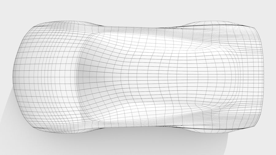 Car Base MR Layout Variant 3 royalty-free 3d model - Preview no. 11