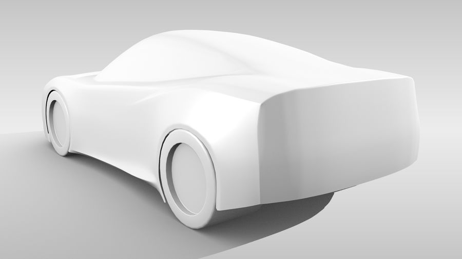 Car Base MR Layout Variant 3 royalty-free 3d model - Preview no. 7