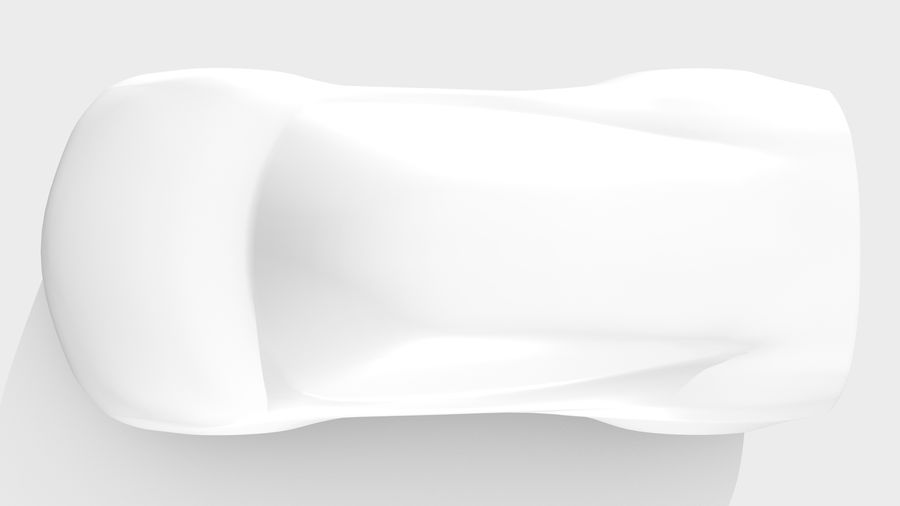 Car Base MR Layout Variant 3 royalty-free 3d model - Preview no. 13