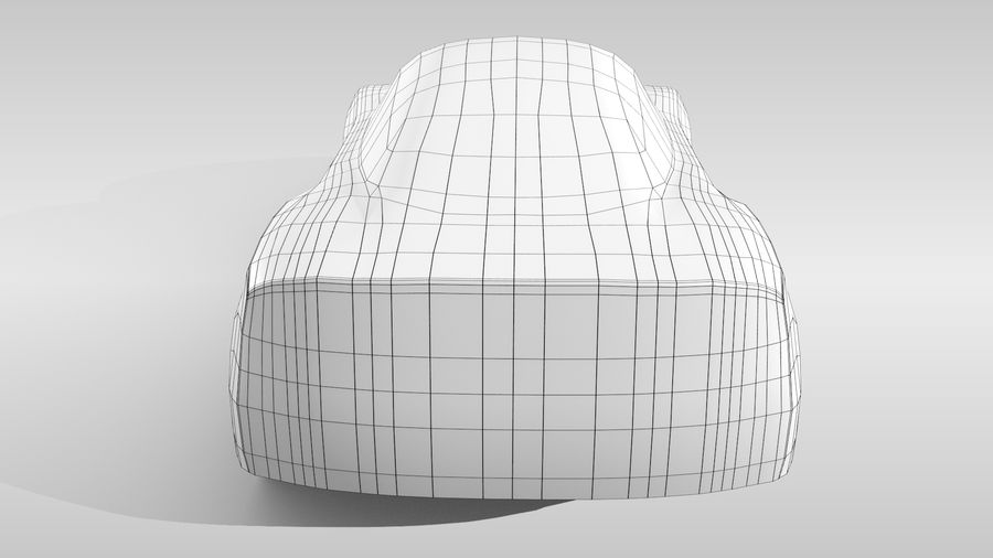 Car Base MR Layout Variant 3 royalty-free 3d model - Preview no. 18