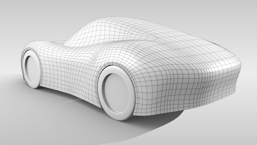 Araba Tabanı RR Düzeni Varyant 2 royalty-free 3d model - Preview no. 5