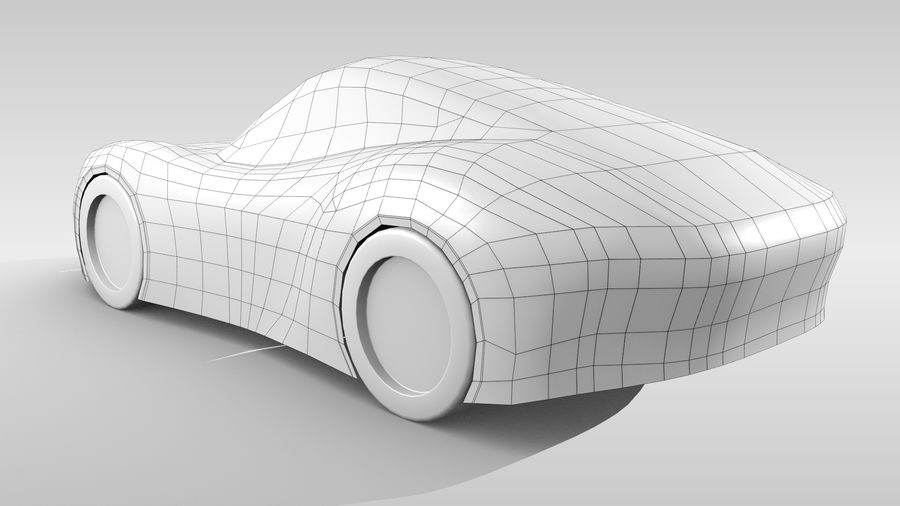 Araba Tabanı RR Düzeni Varyant 2 royalty-free 3d model - Preview no. 6