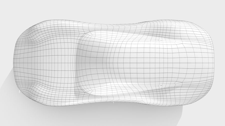Araba Tabanı RR Düzeni Varyant 2 royalty-free 3d model - Preview no. 11