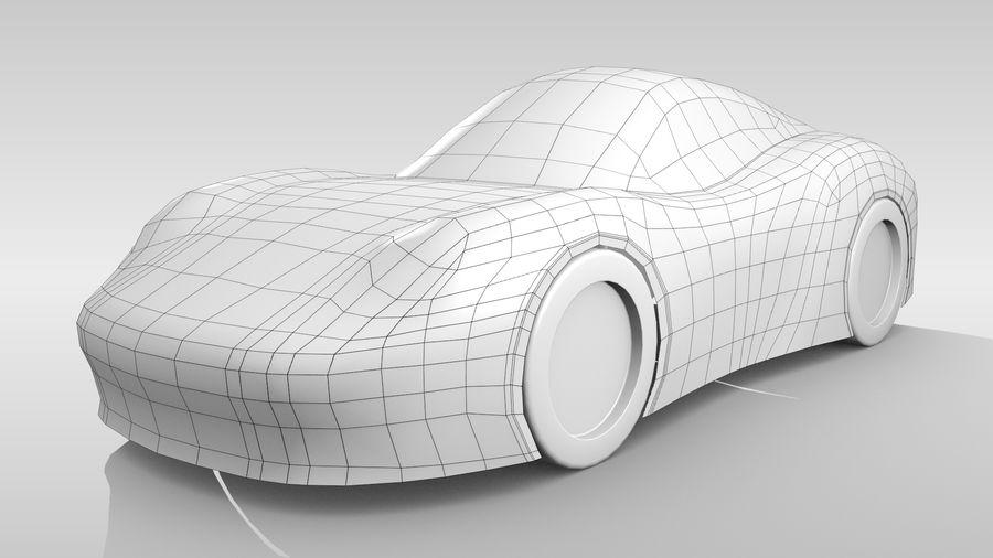 Araba Tabanı RR Düzeni Varyant 2 royalty-free 3d model - Preview no. 3