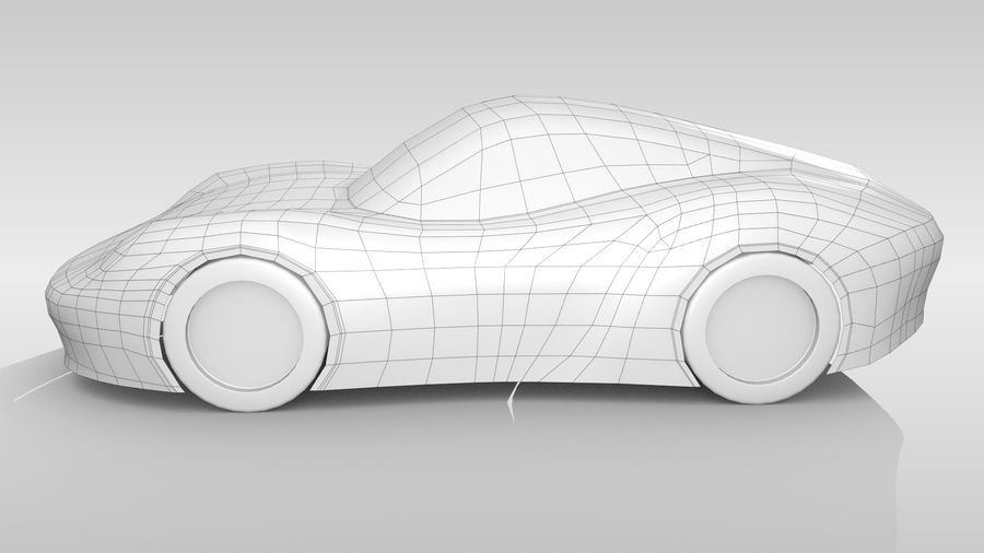Araba Tabanı RR Düzeni Varyant 2 royalty-free 3d model - Preview no. 9