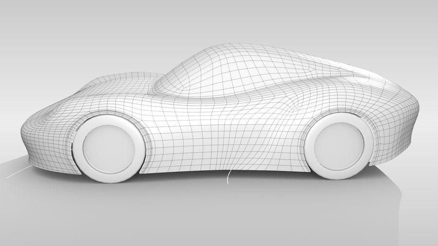 Araba Tabanı RR Düzeni Varyant 2 royalty-free 3d model - Preview no. 8