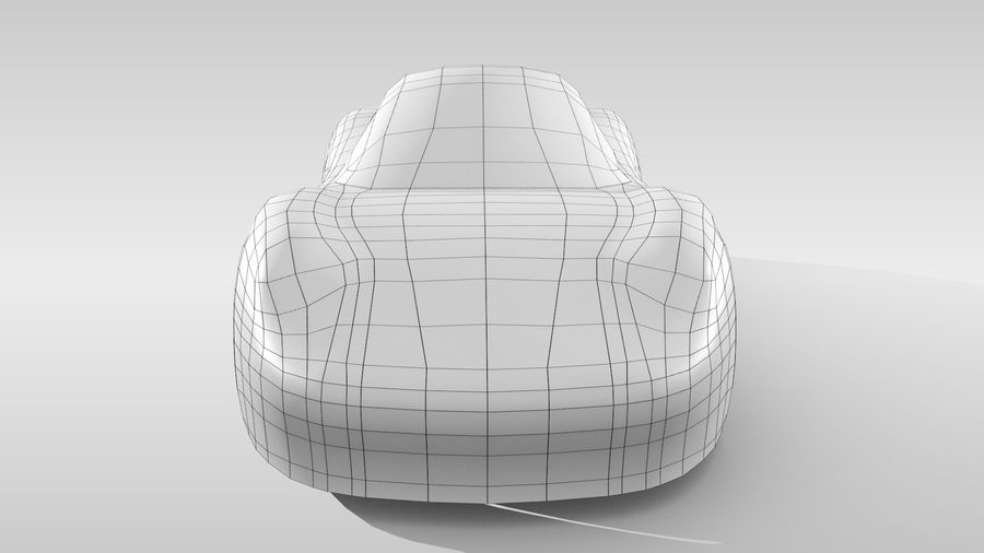 Araba Tabanı RR Düzeni Varyant 2 royalty-free 3d model - Preview no. 15